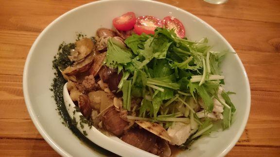 浅利とメカブの和え麺.JPG